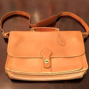 Georgetown Leather Camel Tan Attaché Briefcase